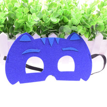 Mask Blue Cat Super Hero Glasses Kids Baby Boy Girl Costume Star Wars Halloween Xmas Avengers Masquerade Eye Cosplay