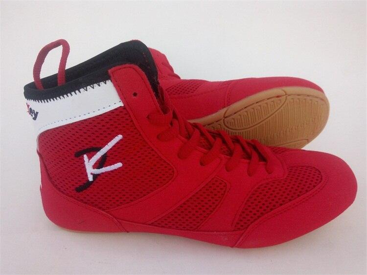 Sport & Unterhaltung Humorvoll Frauen Profiboxen Wrestling Kampf Stiefel Mesh Atmungsaktives Wearable Comfortablel Unterstützung Kinder Turnschuhe Boxen Schuhe