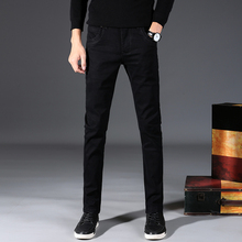 Classic High Quality Fashion Man Black Stretch Jeans Slim Men Casual Skinny Pencil Jean hommes hombre Male Denim Pants цены
