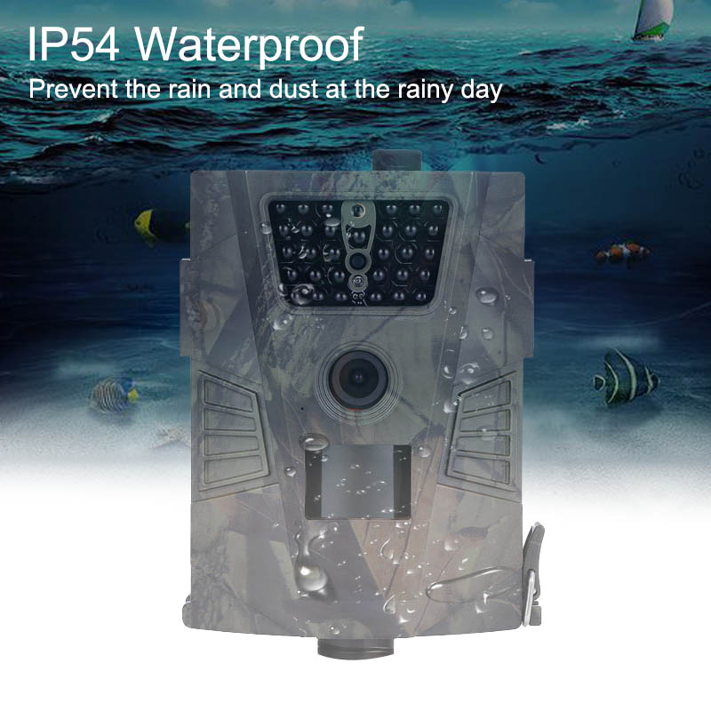 Goujxcy Hunting Trail Camera 850nm Wild Camera Ip54 Night Vision Waterproo forest Camera Photo Traps Thermal