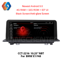 Сенсорный экран Android мультимедиа для BMW X1 F48 (2016 2017) НБТ gps автомобильный dvd плеер с навигацией плеер радио Системы Wi Fi BT DVR 16