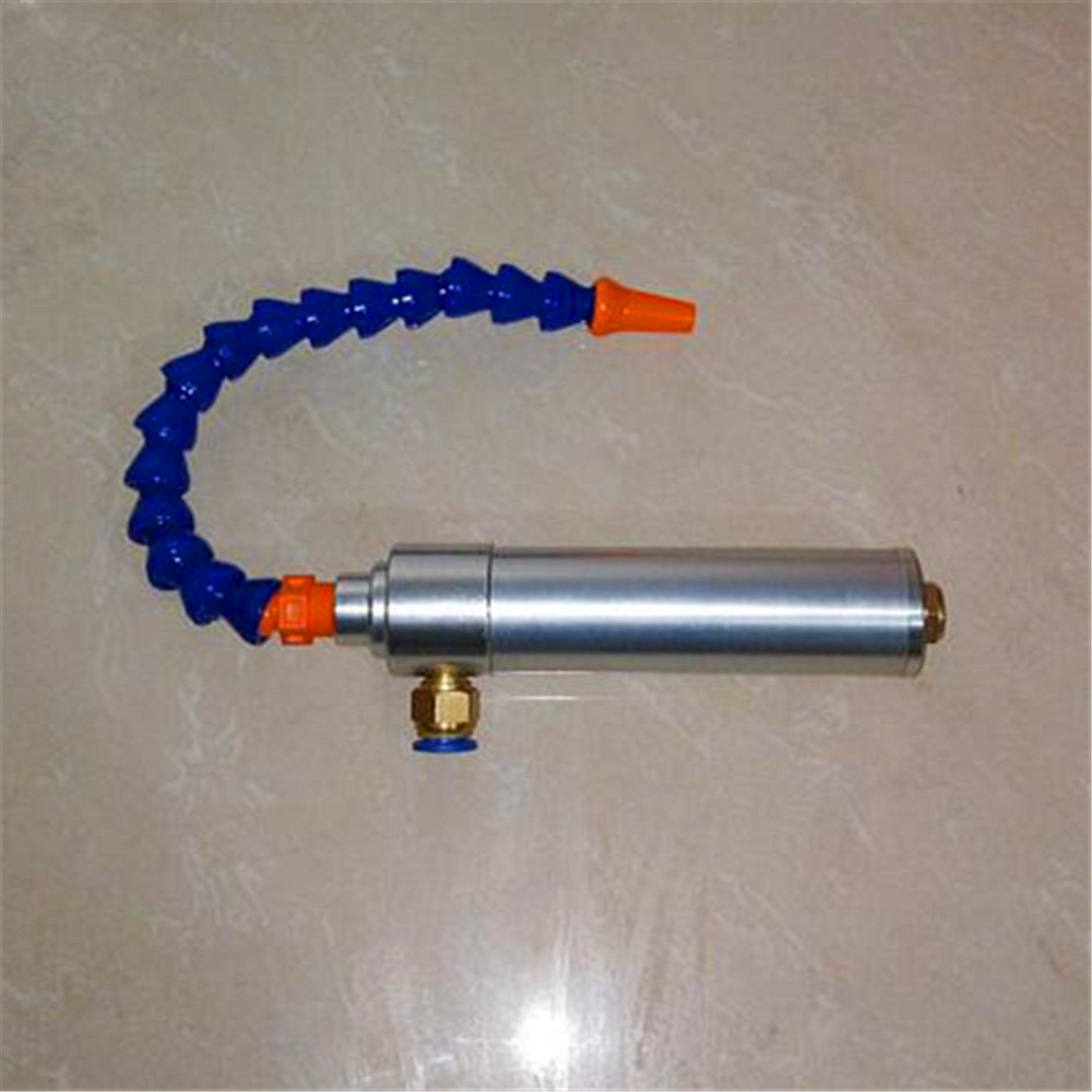 175mm Vortex Cold and Hot Air Dry Cooling Gun Cold Air Gun with Flexible Tube vortex cold and hot air dry cooling gun with flexible tube aluminium alloy 145mm lxm