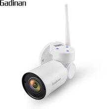 GADINAN 1080 P 2MP Yoosee Mini PTZ 2.8 12mm 4xzoom Caméra IP WiFi Extérieur Onvif Audio P2P DE Sécurité CCTV Caméra Étanche