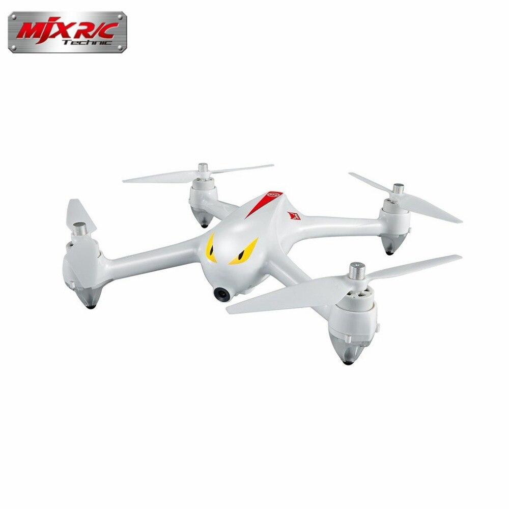 MJX B2C 2.4G 4CH 1080P Camera 800m control distance Drone Altitude Hold Automatic return RC Quadcopter with GPS control hi mjx b2c 2 4g rc drone 4ch 1080p camera drone automatic return rc quadcopter with gps intelligent orientation control dropship