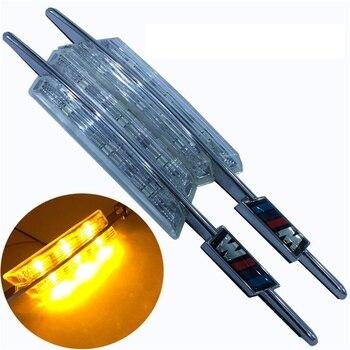 eOsuns led side turn signal fender light For BMW E81 E82 E88 E90 E91 E92 E93 E60 E61 F10, plug & play, no warn & no error