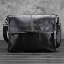 Genuine Leather Bag Men Travel Bag Leather Clutch Crossbody Bags Shoulder 2017 NEW  Men'S Briefcase Messenger Vintage Handbags