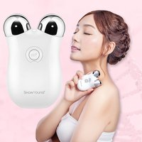 Microcurrent Skin Lifting Machine Artifact Wrinkle Removal USB Rechargeable Face Massager Device Electric Face Slimming Device