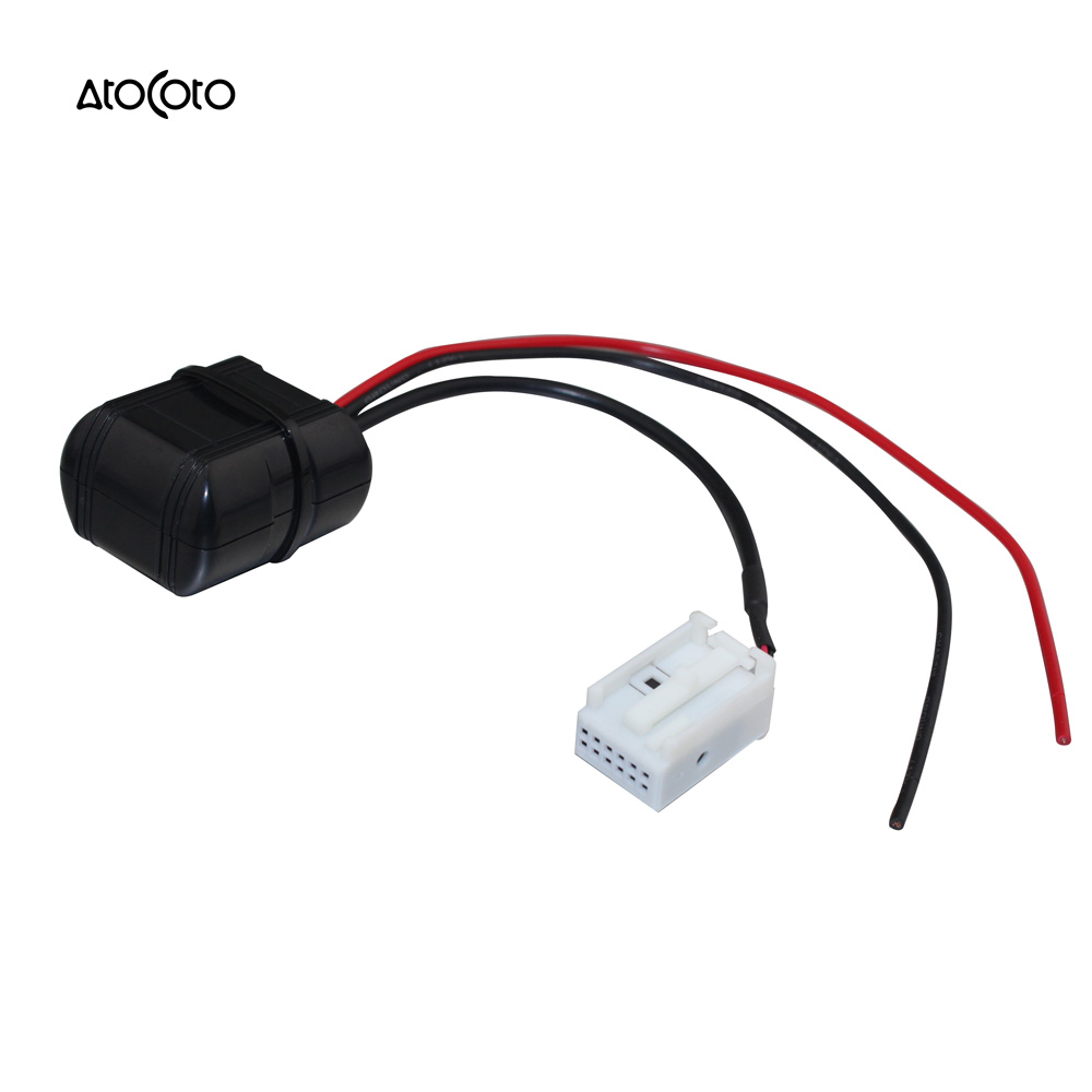 Car bluetooth module for bmw e60 04 10 e63 e64 e61 radio stereo aux cable adapter with filter wireless audio input