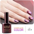 Perfect Summer Newest 10ml Cat eye Chameleon Gel nail Polish 3D Colorful soak off Gel polish Need Black base gel &UV LED light