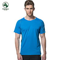 T Shirt Men T Shirt 2017 Summer Fashion Quick Drying Fitness Mens Tshirt Quick Dry Polyester