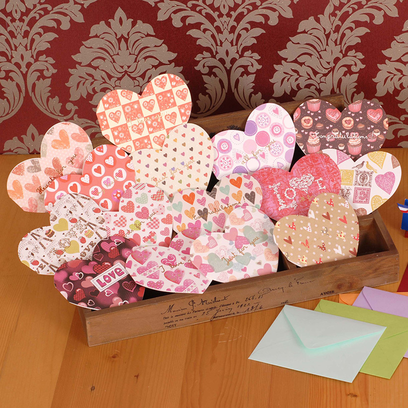 Online Buy Wholesale blank greeting cards envelopes from China – Buy Valentine Cards