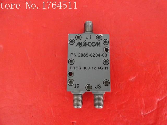 [BELLA] M/A-COM 2089-6204-00 A Two 8-12.4GHz RF Power Divider SMA