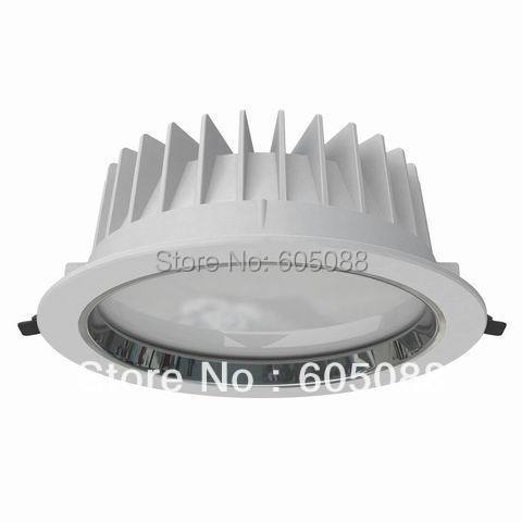 8  35w led ceiling down lamp, Dia230*H85mm,AC110/220v traic dimmable lighting,color white 2590lm,18pcs/lot promotion,free ship! 9 24w recessed led horizontal down light with external driver ac100 240v color white 2373lm 18pcs lot promotion free shipping