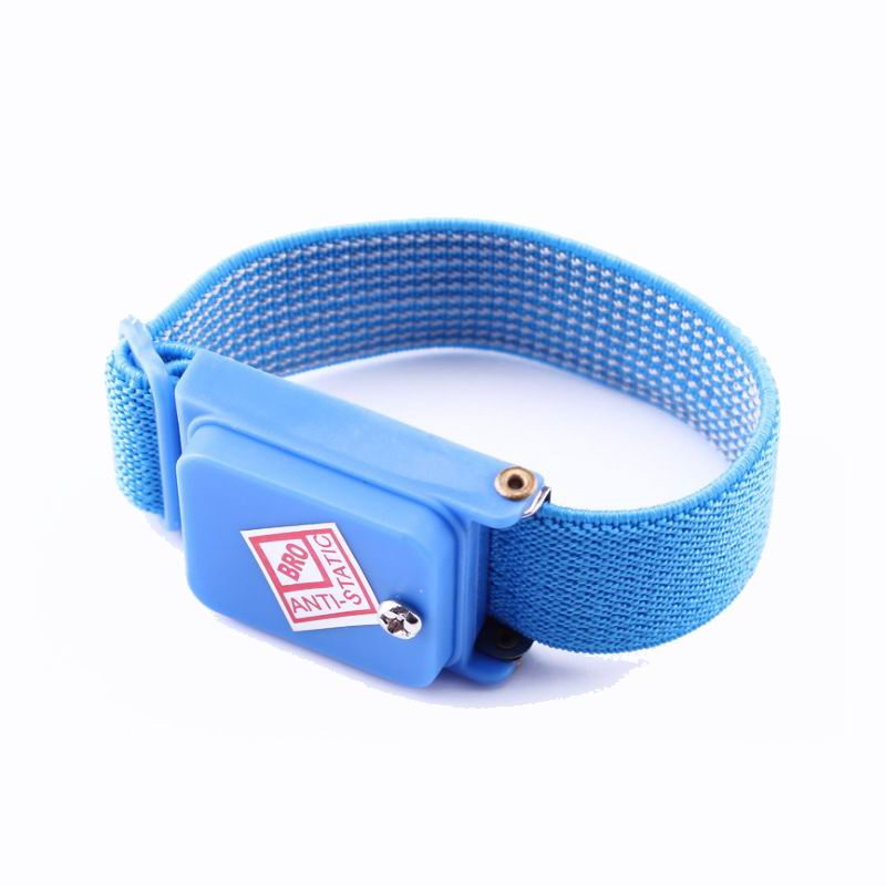 200pcs Cordless Wireless Clip Antistatic Anti Static Esd Wristband Wrist Strap Discharge Cables For Electrician Ic Plcc Worker Clear And Distinctive