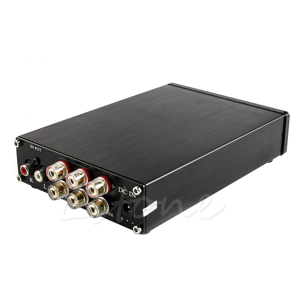 цены на TPA3116 Finished 2.1 High-Power 2*50W+100W Class D AMP Amplifier Board + Case в интернет-магазинах