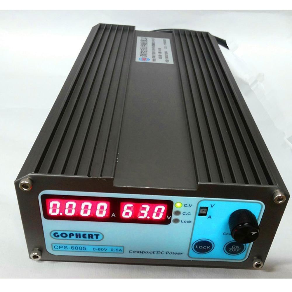 все цены на Small Volum CPS-6005 60V 5A 110V-220V compact adjustable Switch-Mode Digital Adjustable switching DC Power Supply Power Supplies онлайн
