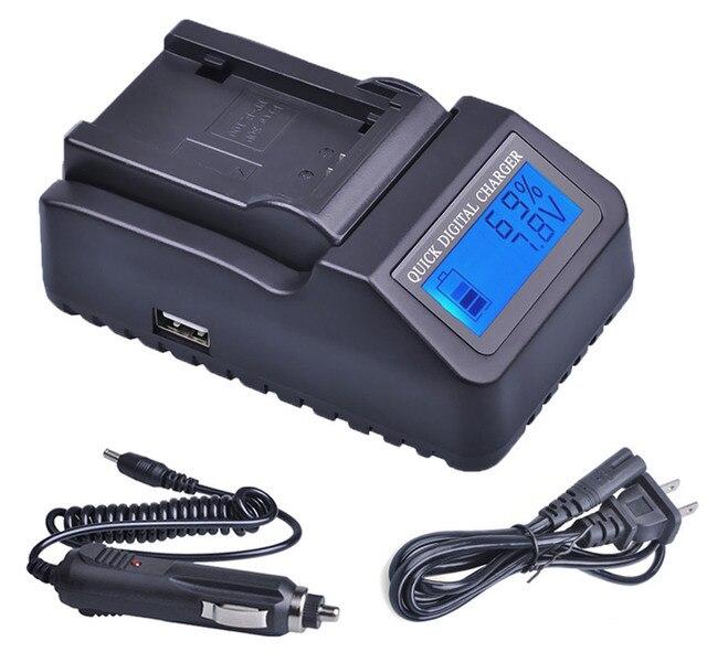 Battery Charger for Hitachi DZ-GX5000A DZ-GX5060SW DZ-GX5020A DZ-GX5080A Camcorder