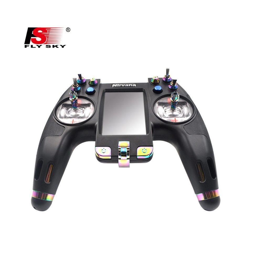 Flysky FS-NV14 2.4g 14CH Nirvana Telecomando Trasmettitore Open Source con iA8X RX per FPV Da Corsa Drone RC Elicottero