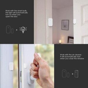 Image 4 - [تحديث Verison ]AQara مستشعر الباب نافذة ذكية زيجبي اتصال لاسلكي متعدد الأغراض العمل مع تطبيق لنظام أندرويد وIOS