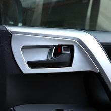 4 шт декоративные накладки на внутреннюю дверь автомобиля из