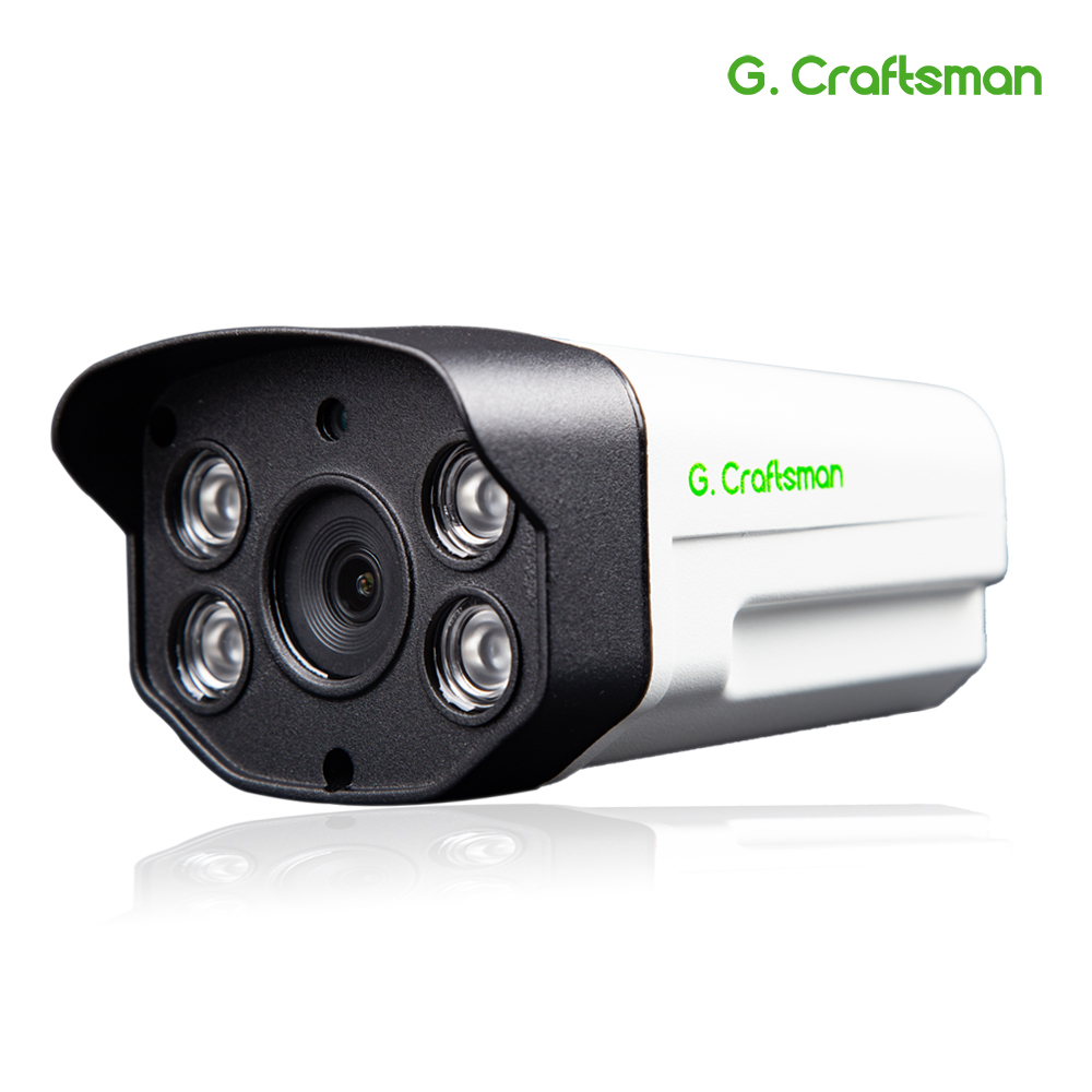 G.Craftsman 5MP POE IP Camera Outdoor Waterproof 50m Infrared Night Vision Onvif 2.6 CCTV Video Surveillance Security P2P Email