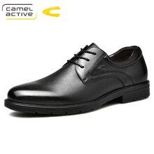 Camel/Новинка; деловые свадебные туфли-оксфорды для мужчин; Роскошные лоферы; обувь из натуральной кожи; броги; Мужские модельные туфли на шнуровке