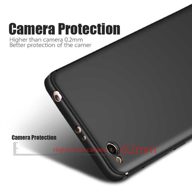 Chính Điện Thoại Trường Hợp Matte Silicone Cao Su Mềm Gel TPU Kinh Doanh Cho Xiaomi Redmi 4A 5A Redmi5A Bao Redmi4A 5.0 inch