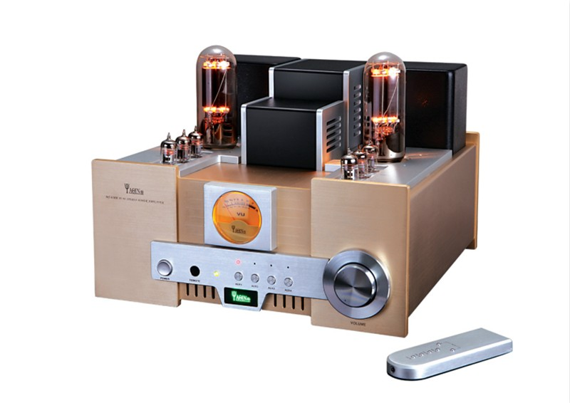 YAQIN MS-650B Integrated Vacuum Tube Amplifier SRPP Circuit 845x2 Single-ended Class A Power Amplifier 2x15W 110V/220V yaqin ms 110b vacuum tube amplifier srppcircuit kt88 98x4 class ab1 amp 4 8 ohm headphone earphone amplifier 2 50w 110v 220v