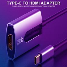 4K 1080P Type C to HDMI Adapter for MacBook Pro 2018 2017 MacBook Air iPad Pro 2018, Samsung Galaxy S10 S9 Surface Book 2 цена 2017