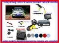 Автомобилей Видео Парковочный Сенсор 6 Обратный Радиолокатор Системы, 2 для фронта 4 для резервного подключения камеры и монитора, цифровой Дисплей/повышающего Alarm