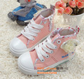 Warrior 7856 12073 high lacing zipper male girls shoes canvas shoes