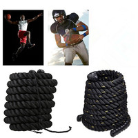 Liplasting 1Pc training sports rope hit rope battle rope fitness rope for arm muscle training body strength training HWC