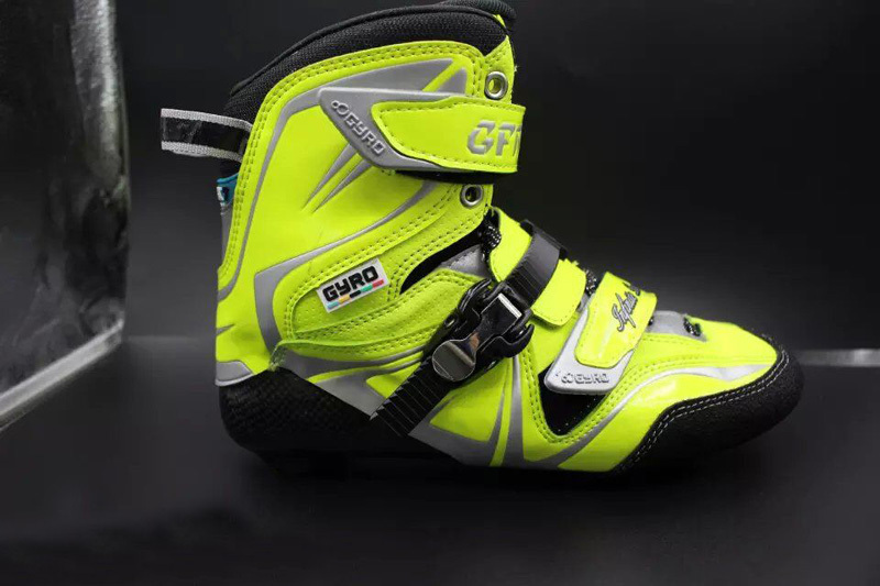 Free Shipping Freestyle Slalom Skating Gyro Boots