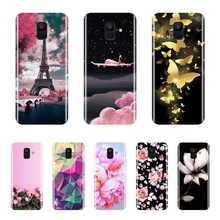 Phone Cases For Samsung Galaxy A6 A8 Plus 2018 A5 A7 Case Silicone Soft Back Cover For Samsung A3 A5 A7 2016 2017 Case цена