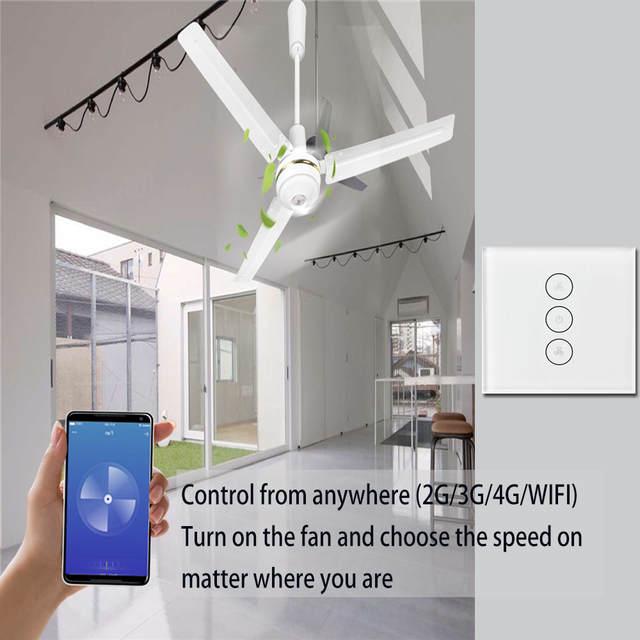 Sp Wifi Ceiling Fan Switch - Gonzagasports