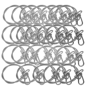 Image 1 - 25pcs/lot High quality 60 cm long Stage light safety rope cable/safe wire for stage light security 60cm length
