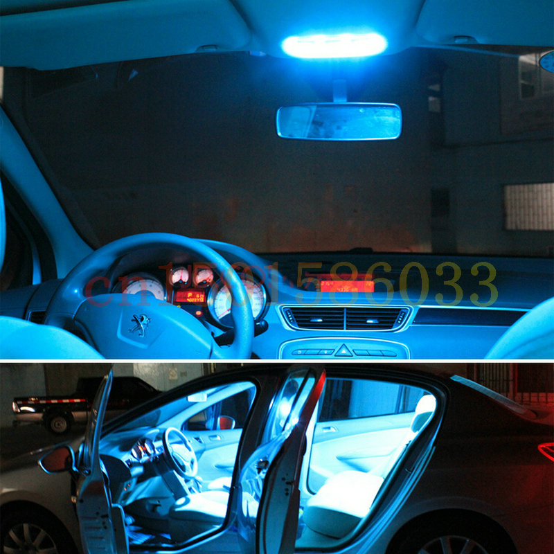 Free Shipping 14pc LED Lights car styling Hi Q Interior Package Kit For Dodge Charger 2014 in Signal Lamp from Automobiles Motorcycles