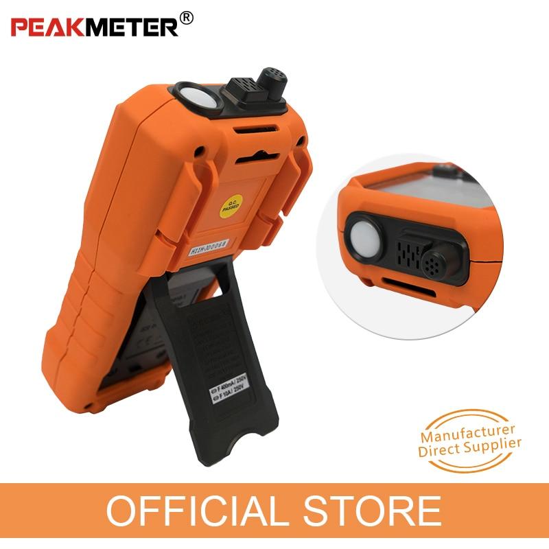 PEAKMETER PM8229 Multimetro digitale automatico 5 in 1 con Lux - Strumenti di misura - Fotografia 2
