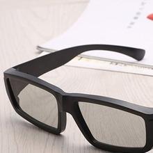Ultra Clear Polarizing 3D Movie Glasses Unisex Plastic Frame For 3D TV Cinemas Fashion High Quality