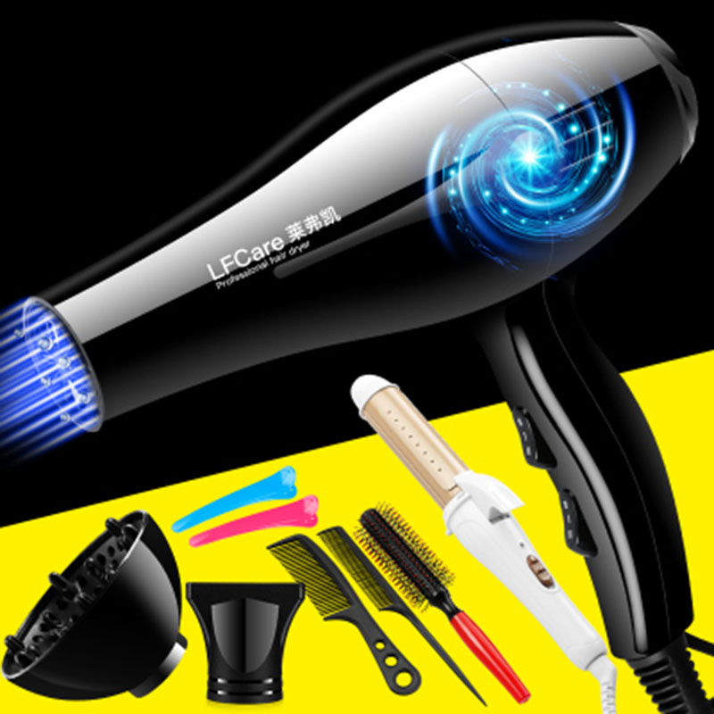 Фотография 2400 watts hair dryer home size power anion hair salon barber shop seven a big gift package