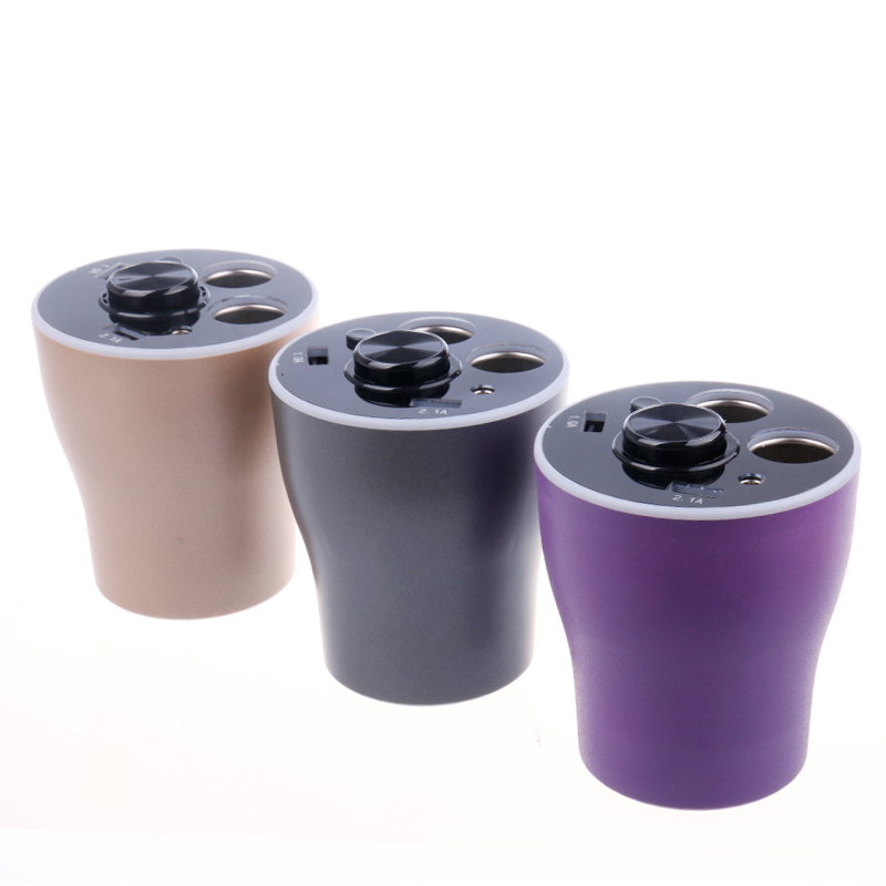 Pbear Multifunction Cup Holder Type Car Charger