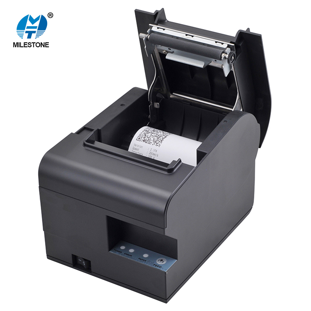 USB+Serial /Lan 80mm Hotel/Kitchen Desktop Computer Connected Bill Receipt Airprint Thermal Printer MHT-N160II serial port best price 80mm desktop direct thermal printer for bill ticket receipt ocpp 802