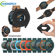 2pcs Watch case for HUAWEI WATCH GT/GT Active Colorful Silic