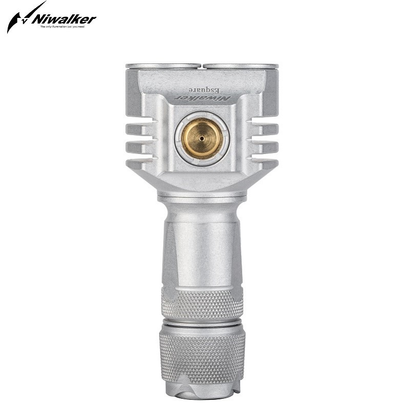 Niwalker Esquare MM6S (cG) 301ST мощные мини фонарики USB Перезаряжаемый Мини Многофункциональный фонарь 3500 люмен маленький фонарь