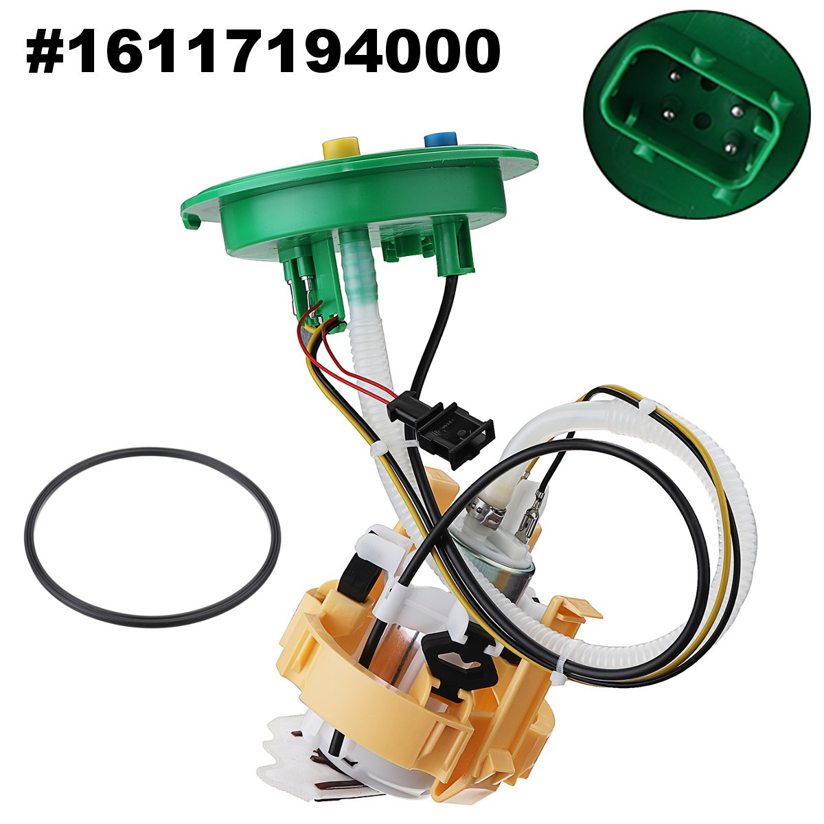 16117194000 Car Vehicle Fuel Pump Assembly for BMW 745Li 745i 2002 2003 2004 2005 for BMW 750Li 750i 2006 2007 2008 pair car front headlamp clear lens headlight plastic shell clear cover for bmw e90 e91 2004 2005 2006 2007