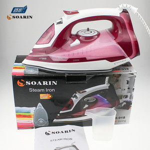 Image 3 - Household Steam Iron for Clothes 220v Ceramic  Selfcleaning Steamer Iron Clothing Burst of Steam Steam Controler Wire Ironing