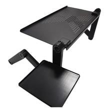Elastyczne biurko komputerowe na telefon lub laptopa stojące biurko na kanapa z funkcją spania Laptop składany stół biurko do notebooków z podkładką pod mysz do biura