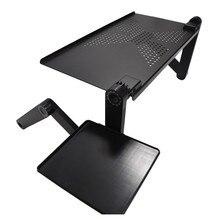 柔軟なコンピュータデスクモバイルノート Pc 立ちデスクベッドソファノートパソコン用マウスパッド折りたたみテーブルノートブックデスクオフィス