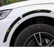 Lsrtw2017 PVC Car Wheel Edge Anti-collision Strip Trims for Audi Accessories