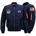 Sping Bomber Jacket Men Military Nasa Jacket Men Plus Size 6XL Jacket For Men Mens Jackets And Coats Parka Men veste homme.DA26